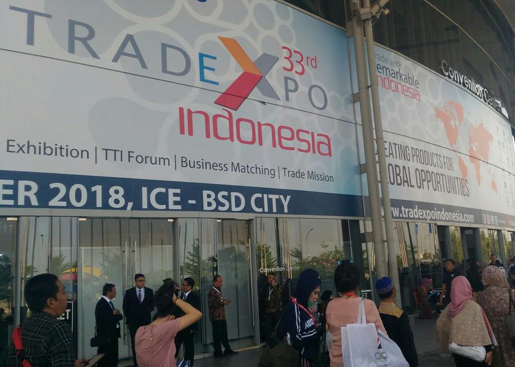 TEI 2018 Bukukan Transaksi Rp126,77 Triliun