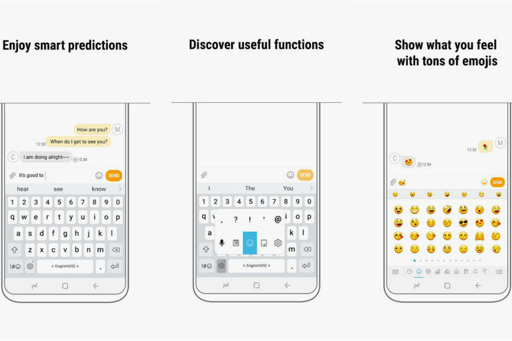 Aplikasi Keyboard Samsung Terima Mode Floating