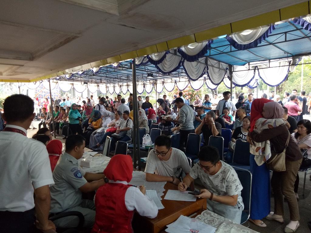 Keluarga Korban Mulai Memadati Posko di Bandara Halim