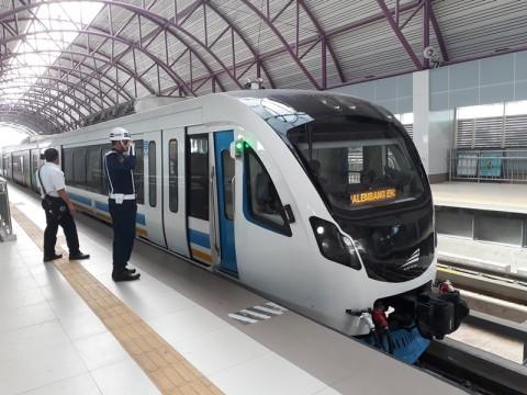 Pemerintah Turunkan Tarif LRT Palembang jadi Rp7 Ribu