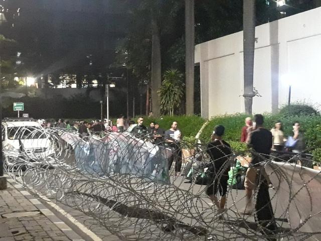 Demo Ratusan <i> Driver</i> Grab Berujung Ricuh