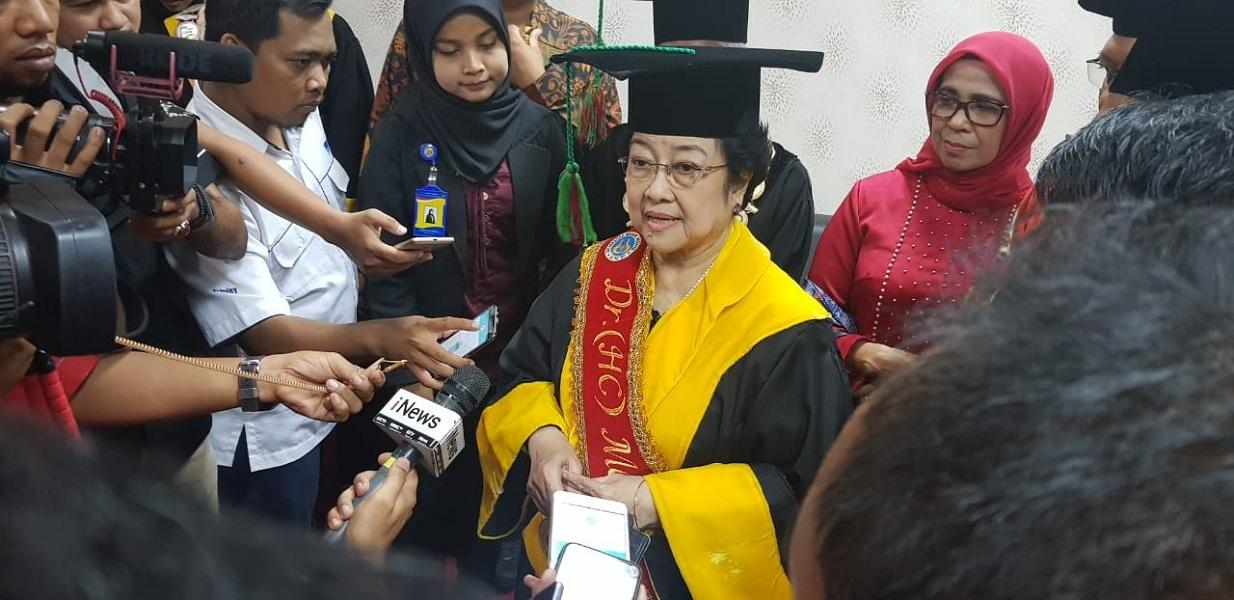 Megawati Menyatakan Prihatin atas Musibah Lion Air