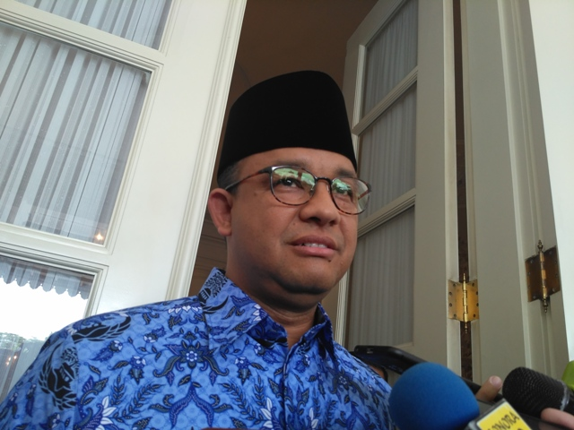 Anies Rombak Direksi MRT dan TransJakarta