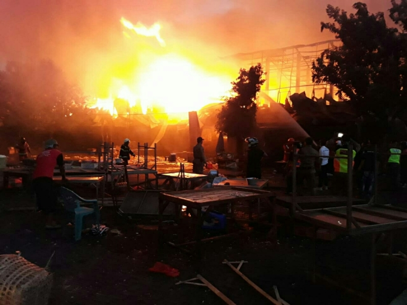 Ribuan Kios di Pasar Legi Solo Ludes Terbakar