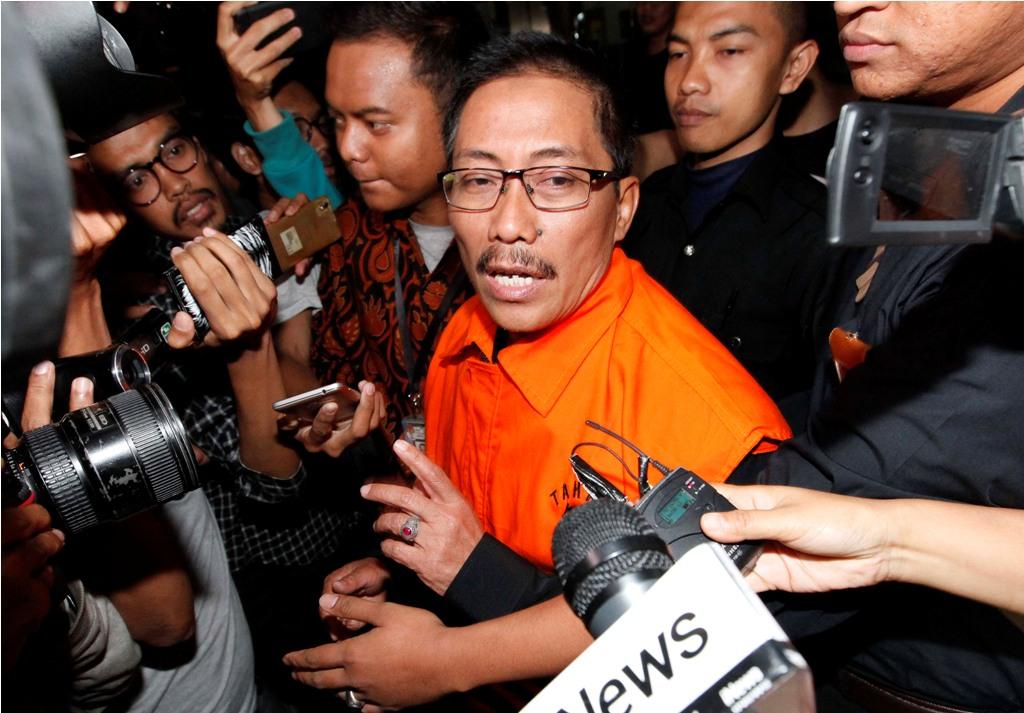 KPK Sita Empat Mobil Terkait OTT Bupati Cirebon
