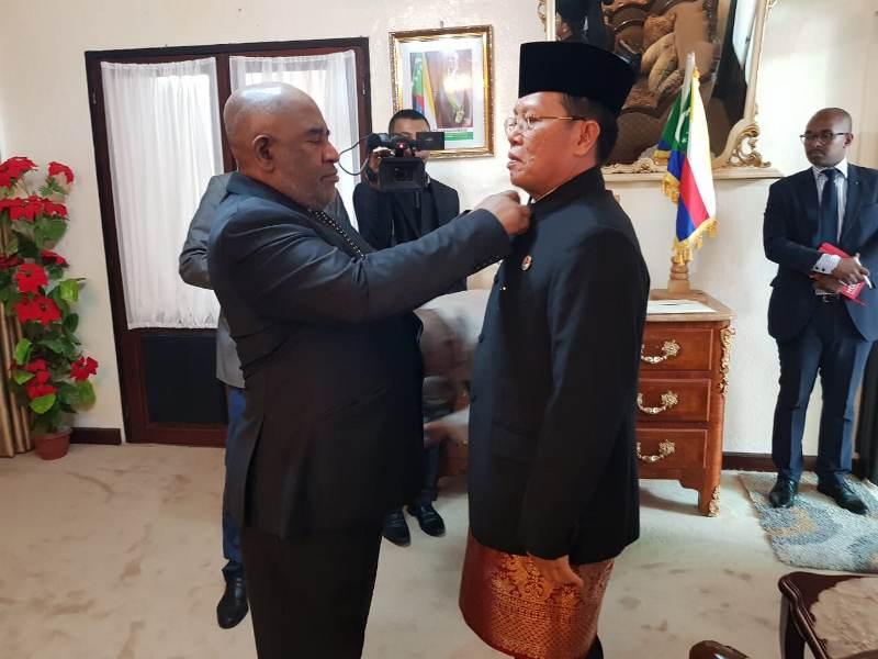 Membuka Peluang Ekonomi Baru Indonesia di Uni Komoro