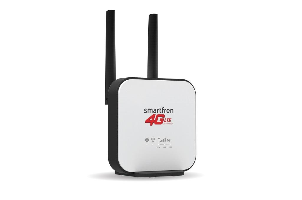 Smartfren Pasang Wi-Box 4G Home untuk Internet Rumahan