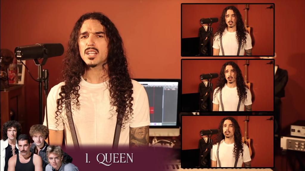 Musisi Ini Bawakan Lagu Bohemian Rhapsody dalam 42 Gaya