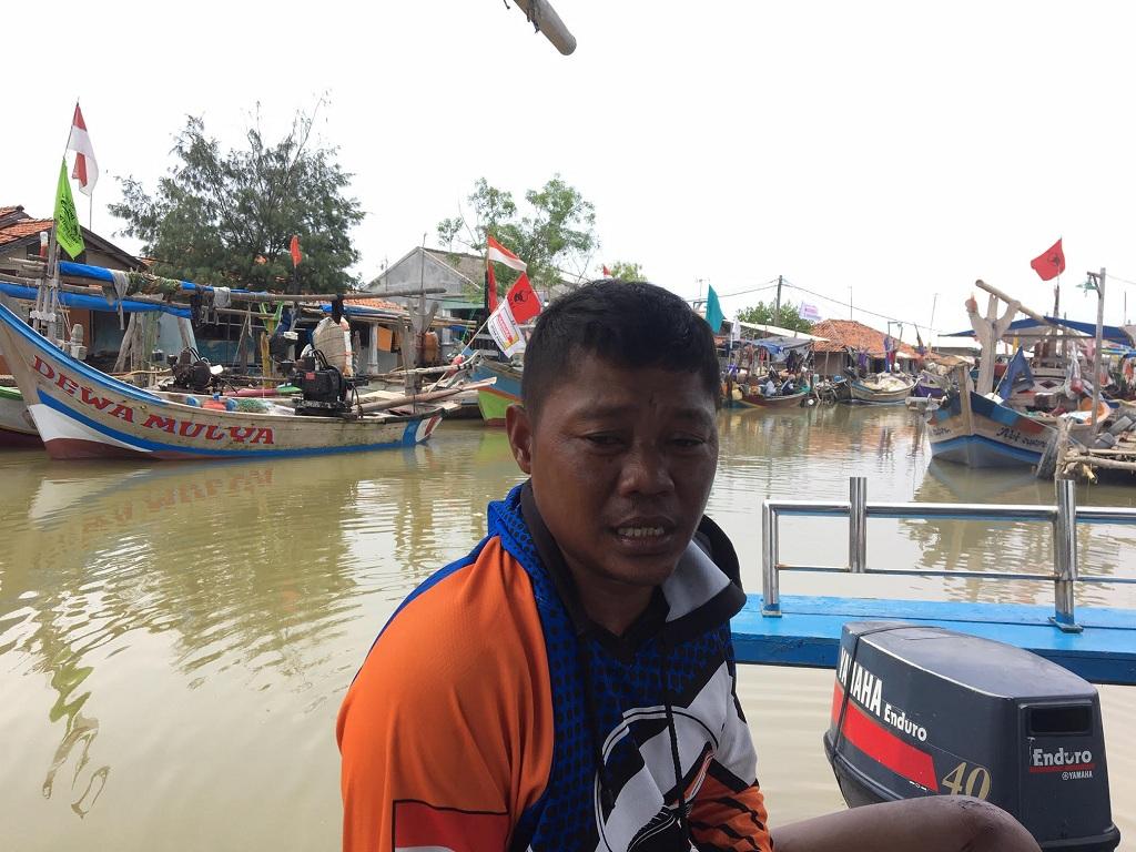 Ujang Lihat Asap Hitam di Lokasi Jatuhnya JT610