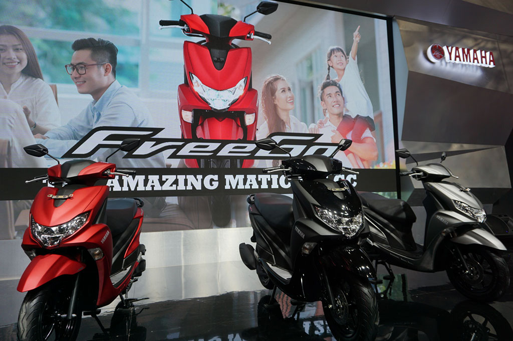 Yamaha Perketat Segmen 125 cc dengan FreeGO