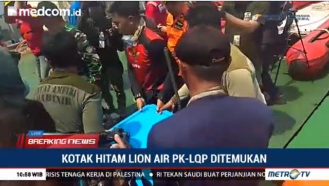 Investigasi Lion Air PK-LQP Bisa Dimulai