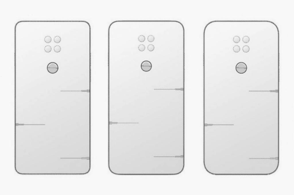 Paten Desain Ponsel LG Berikutnya Pakai Empat Kamera
