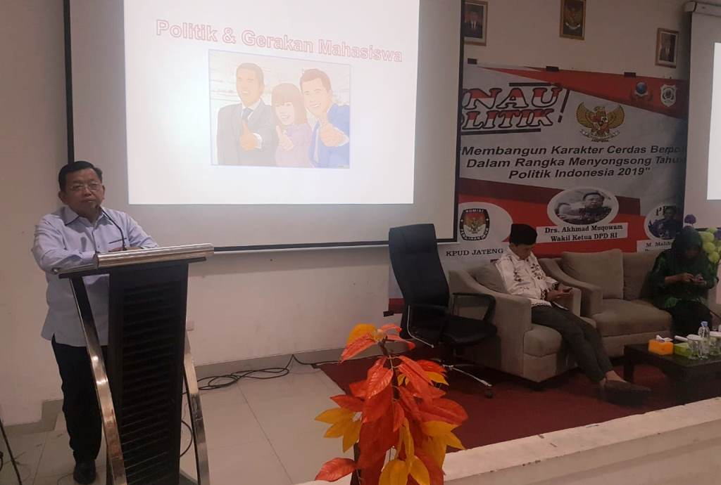DPD Dorong Mahasiswa Pahami Politik