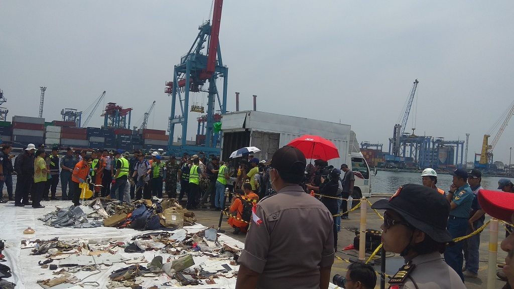 Barang Temuan Lion Air PK-LQP Diserahkan ke KNKT