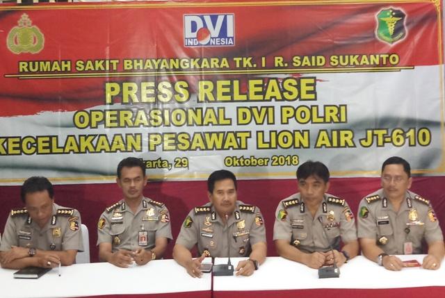 3 Jenazah Korban Lion Air Teridentifikasi