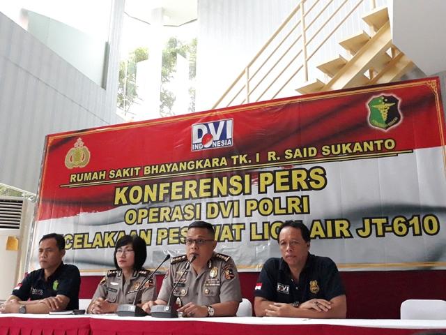 RS Polri Menerima Total 73 Kantong Jenazah