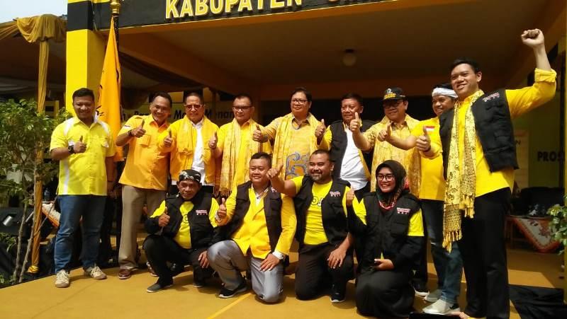Golkar Targetkan 24 Kursi di Jawa Barat