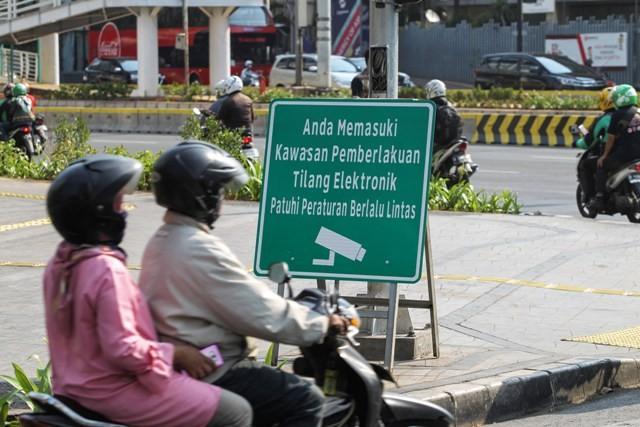 Polisi Tindak 1.431 Pelanggar e-TLE