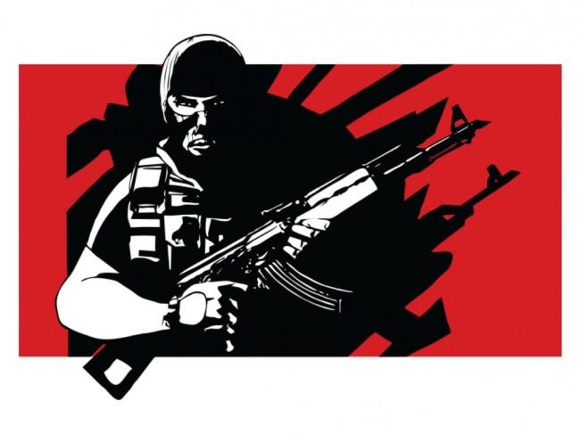 Anggota Kelompok Bersenjata Tewas dalam Baku Tembak
