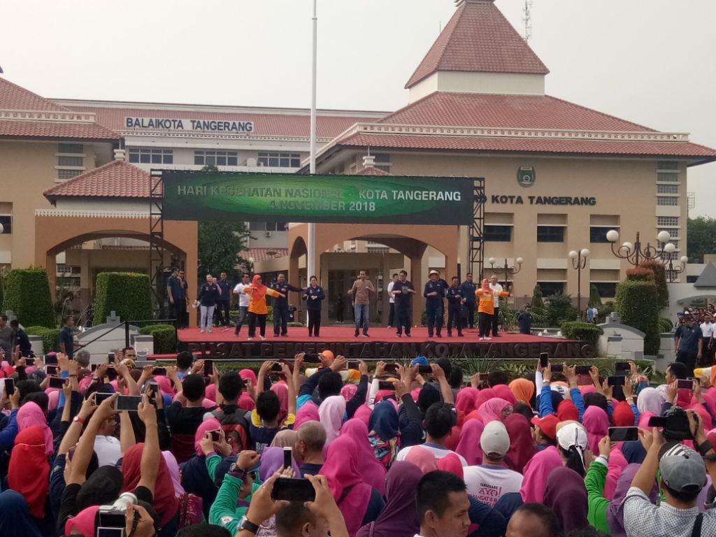 Jokowi Ajak Publik Jaga Pola Hidup