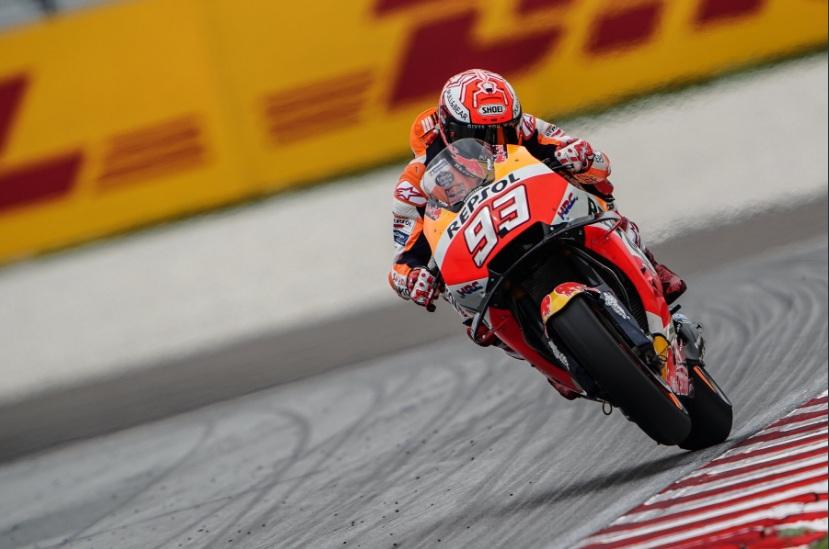 Dramatis, Marquez Merajai MotoGP Malaysia usai Rossi Terjatuh