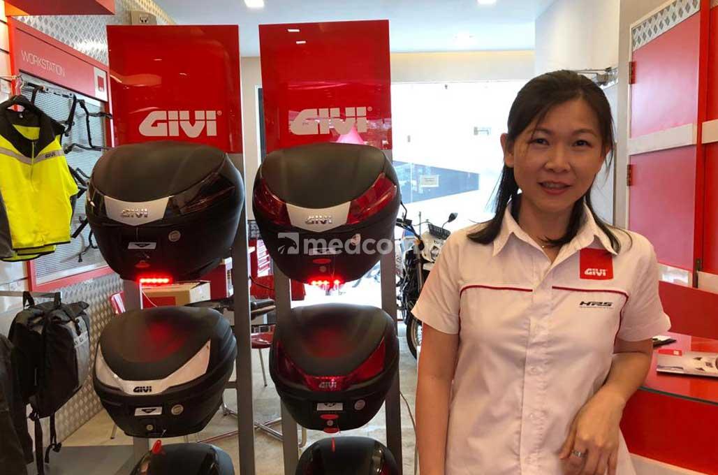 GIVI Boyong Box Motor Berdimensi Kecil untuk Pasar Nasional