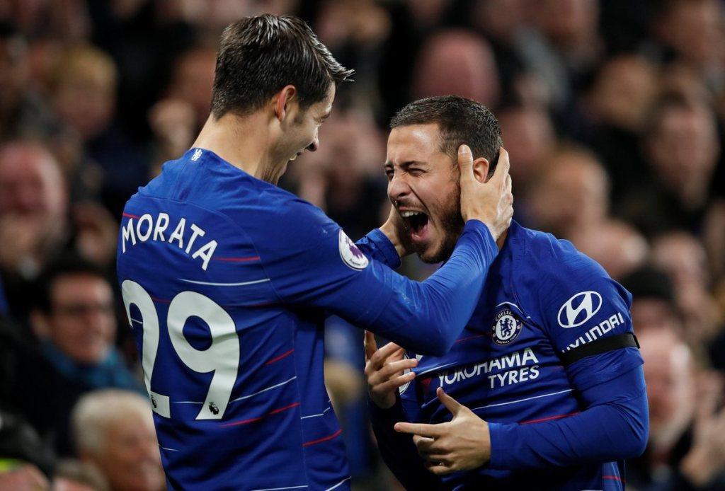 Dua Gol Alvaro Morata Bawa Chelsea Ungguli Crystal Palace