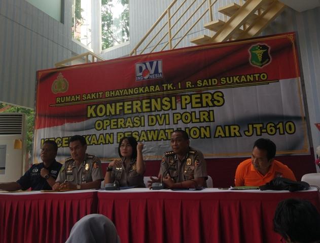Tujuh Korban Kecelakaan Lion Air Kembali Teridentifikasi