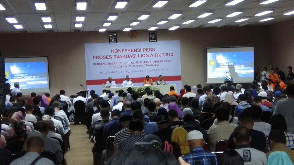 KNKT: Lion Air PK-LQP Jatuh Keras ke Laut