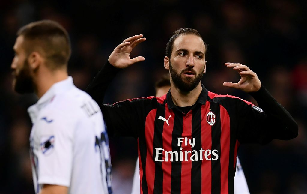 Higuain Jadi Tumbal Kemenangan Milan