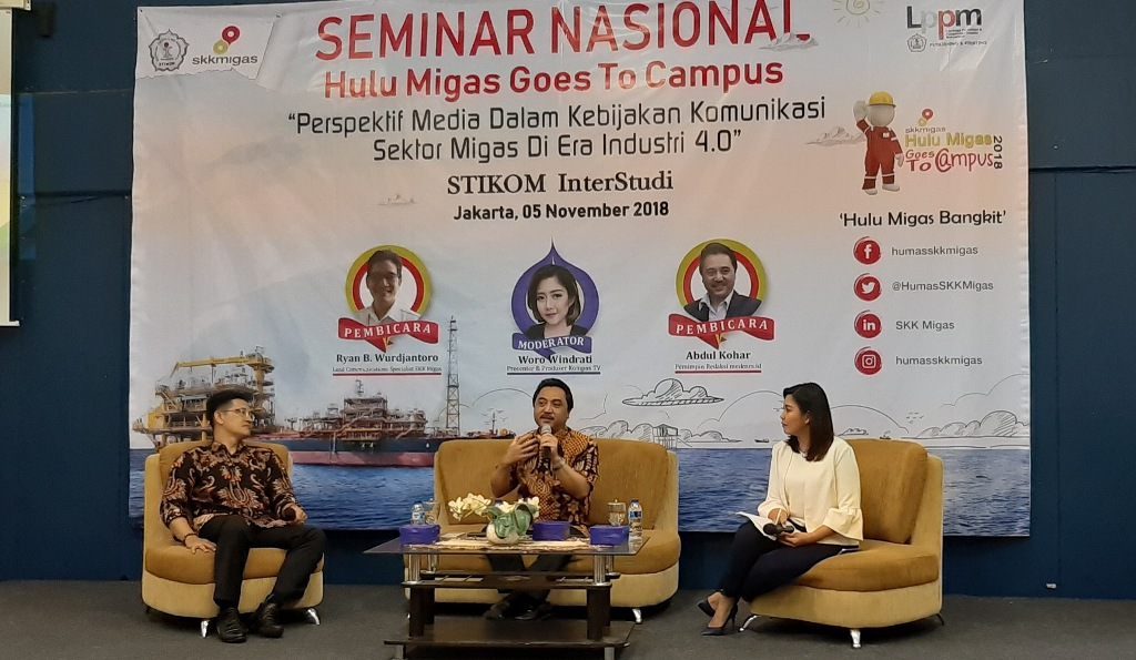 Peran Media Mengedukasi Sektor Vital Kebutuhan Migas