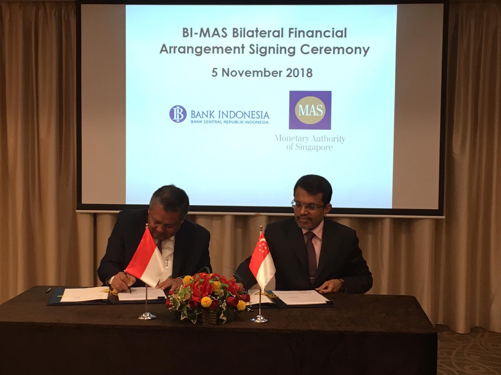 Bank Sentral Singapura Teken Perjanjian Keuangan Bilateral USD10 Miliar