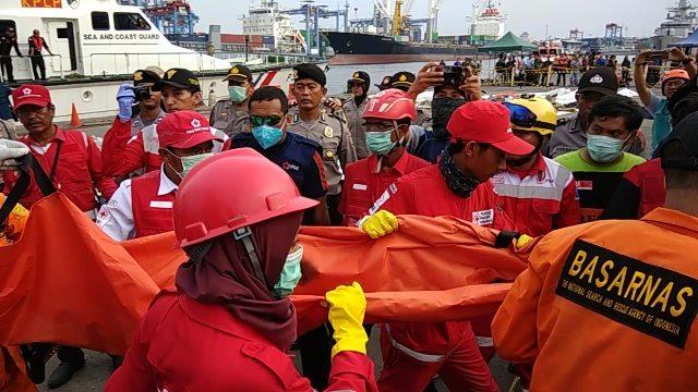 Total 155 Kantong Jenazah Korban Lion Dikumpulkan