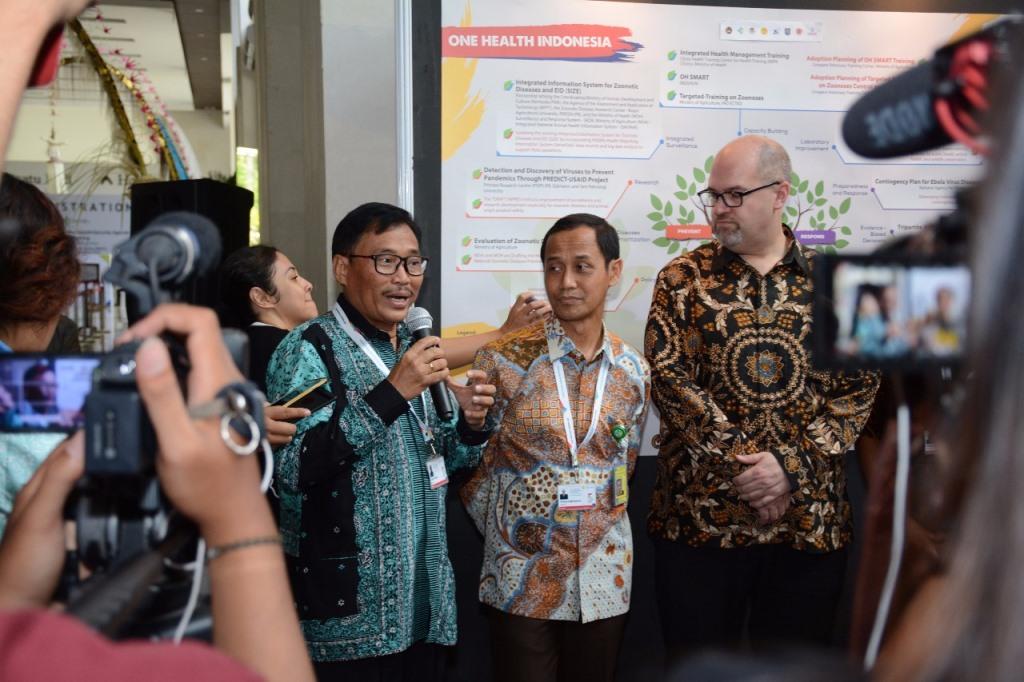 Indonesia Pimpin Upaya Penanggulangan Zoonosis Global