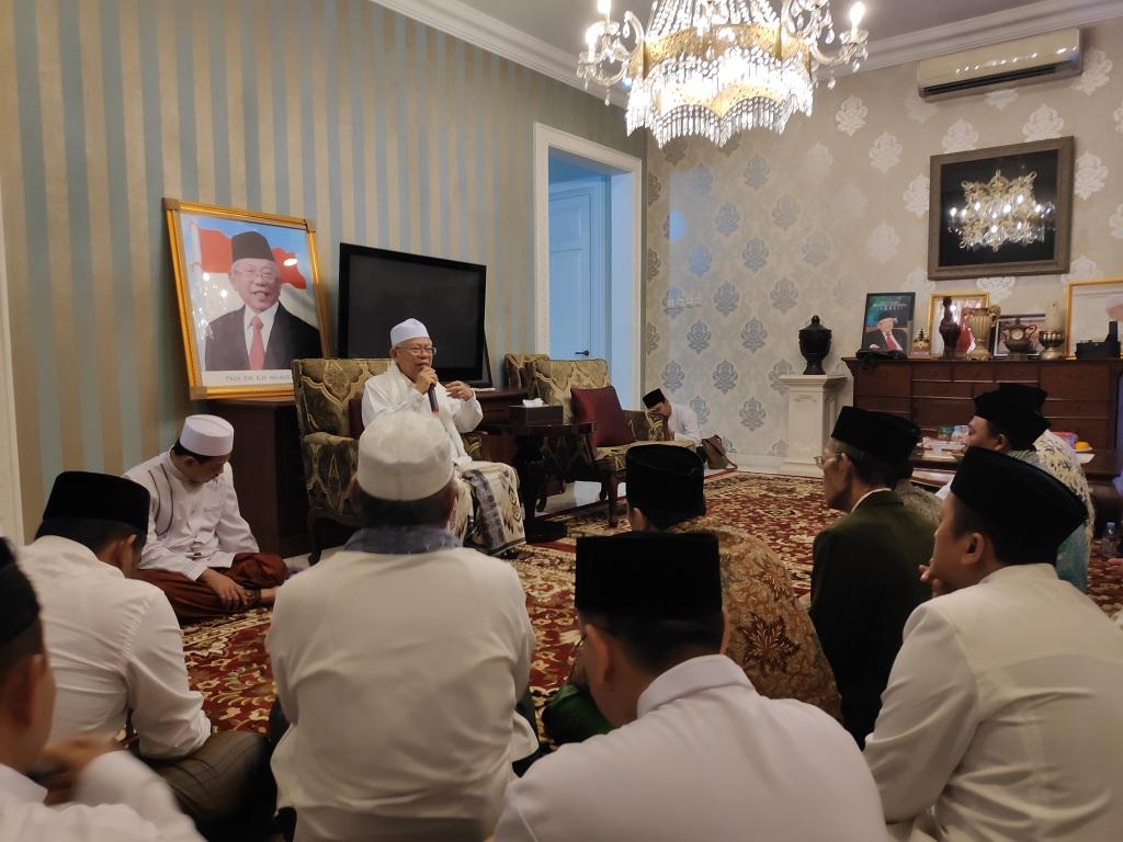 Maruf Amin Gelar Pengajian Bersama Ulama Se-Jakarta Barat
