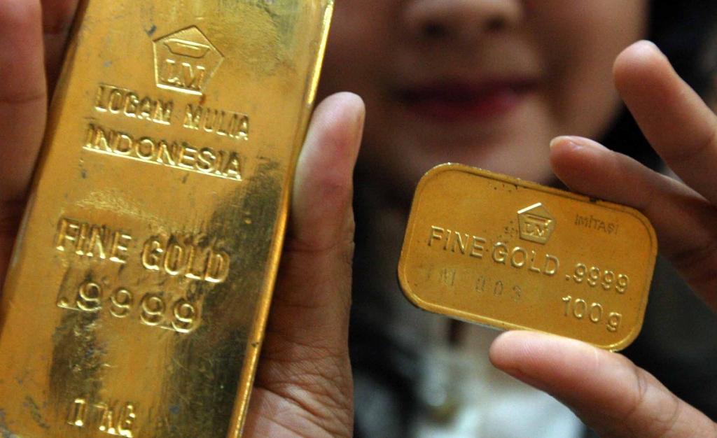 Penjualan Emas Antam Melonjak 221% di Kuartal III