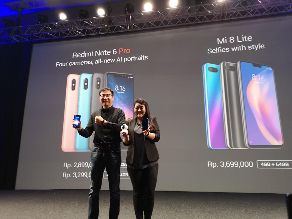 Xiaomi Redmi Note 6 Pro dan Mi 8 Lite Masuk Indonesia