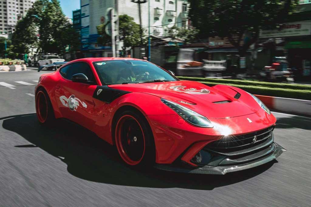 Pasang <i>Wide Body</i> Bikin Ferrari F12 Berlinetta Lebih Ganteng