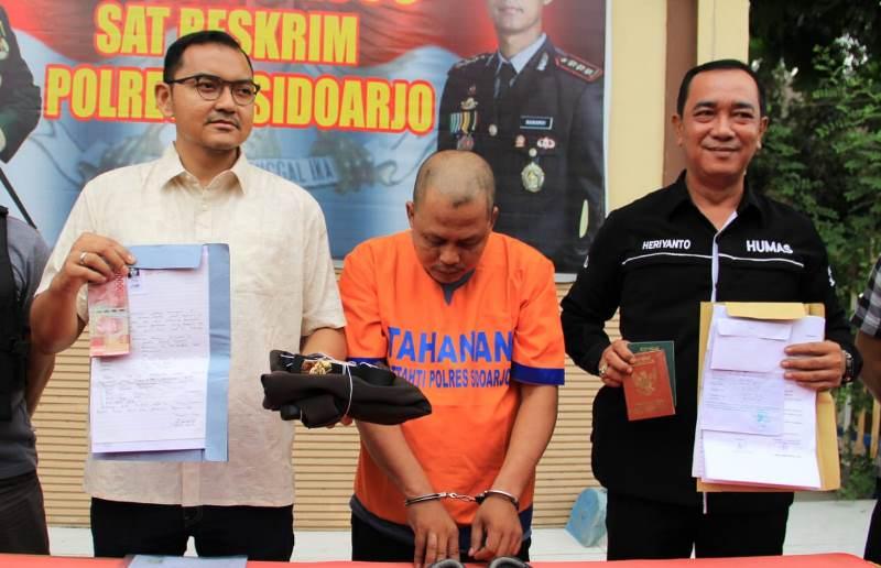 Janjikan Pekerjaan, Polisi Gadungan Ditangkap