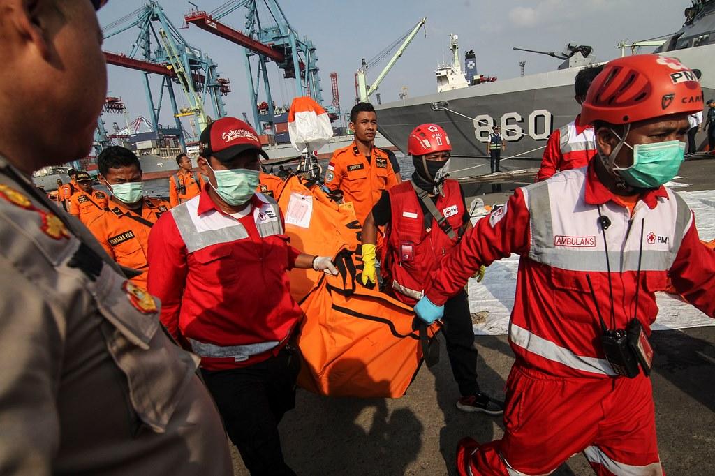 Total 184 Kantong Jenazah Korban Lion Air Dievakuasi