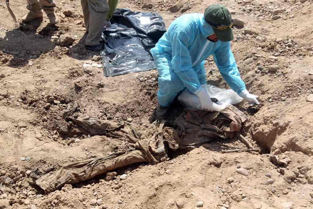 PBB Temukan 200 Kuburan Massal di Irak