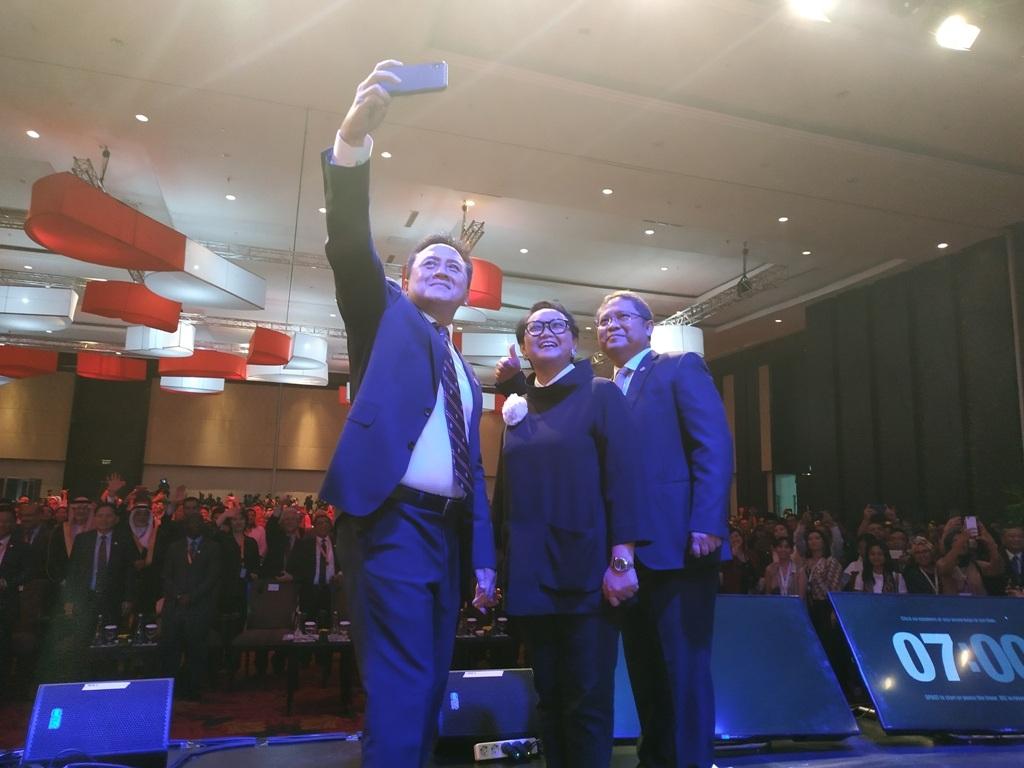 Dasi Triawan Munaf Melayang Saat Membuka WCCE