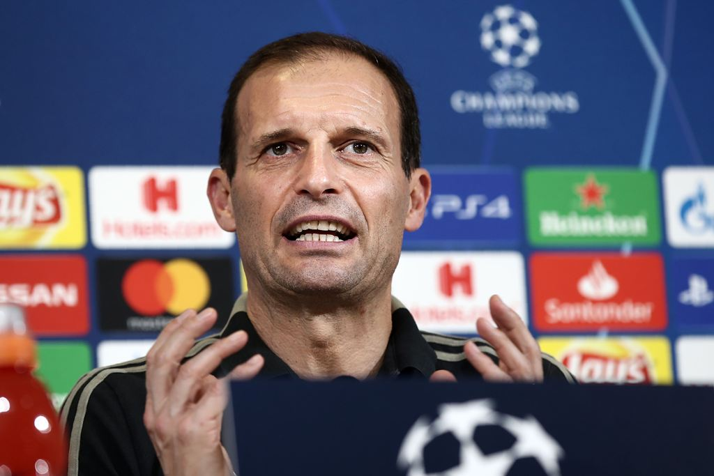 Pesan Allegri Jelang Juventus Kontra Man United