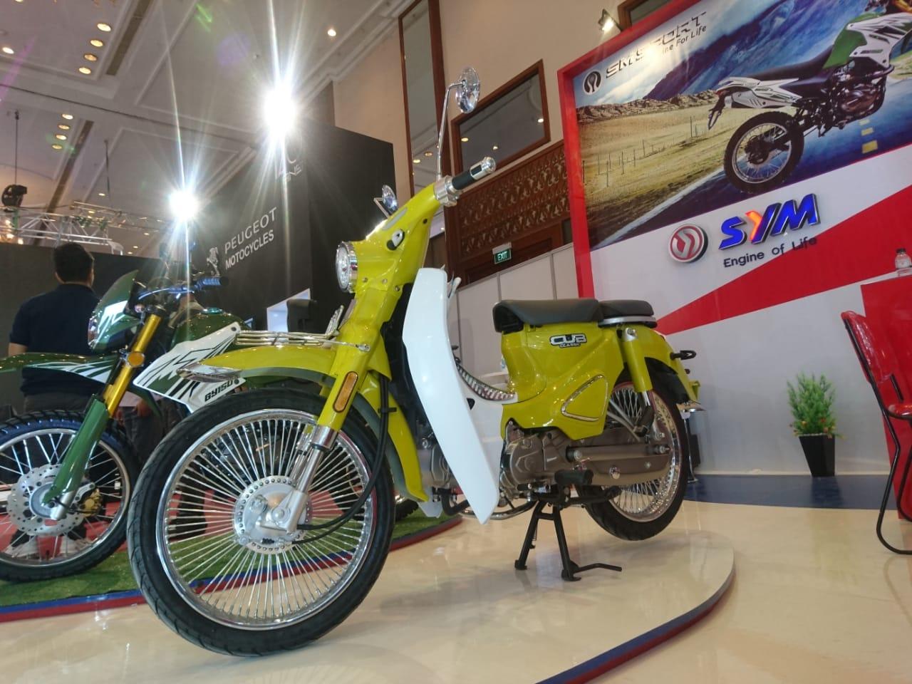 Nostalgia Bebek Klasik dengan SYM Sport Cub Classic
