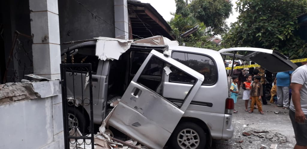 Empat Warga Terluka Akibat Ledakan Gas di Bekasi