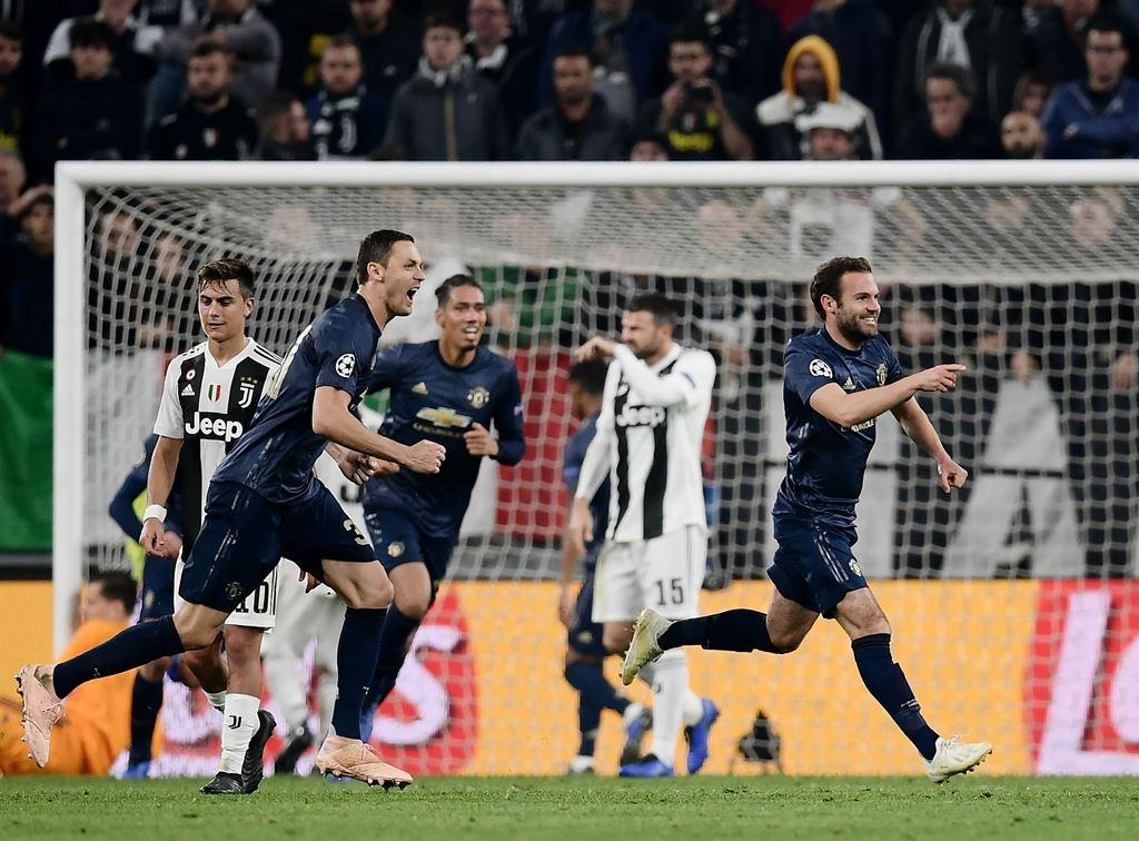 Rapor Pemain Juventus versus Manchester United