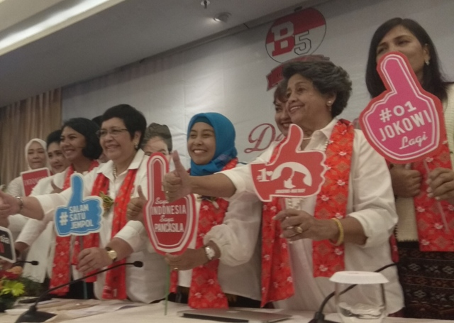 Perempuan Bravo 5 Mendukung Jokowi-Maruf