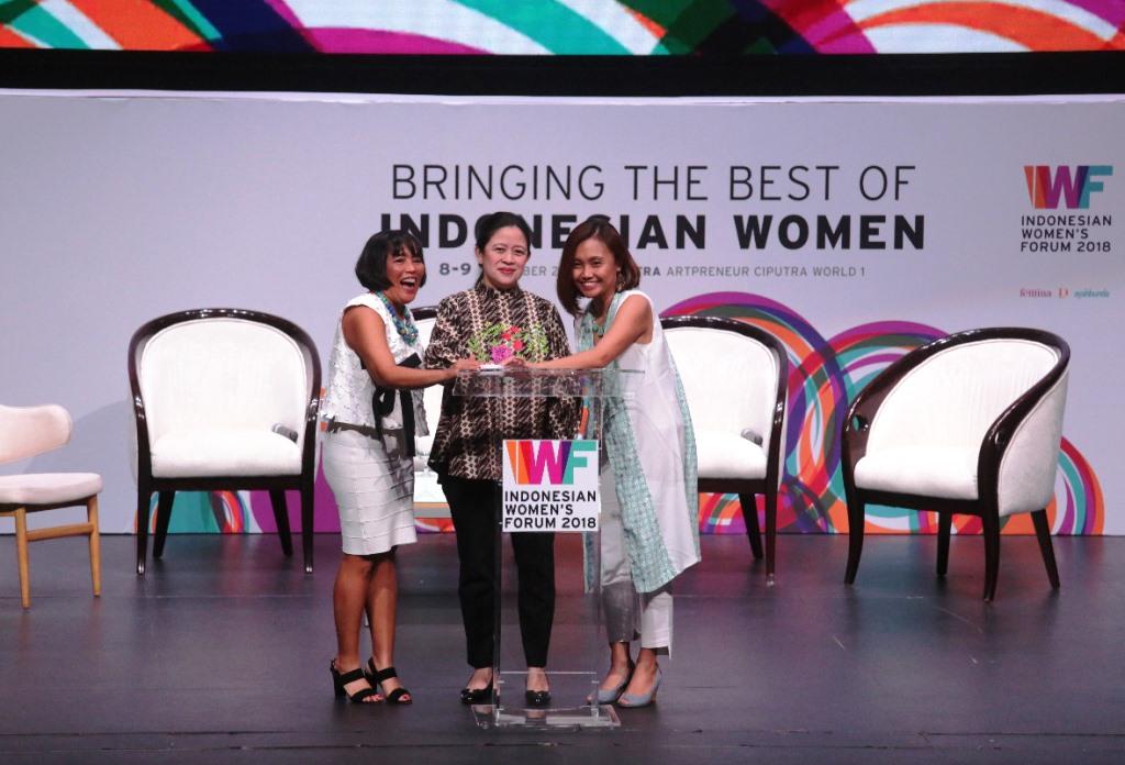 Menko PMK Dorong Peran Perempuan pada Era Ekonomi Digital