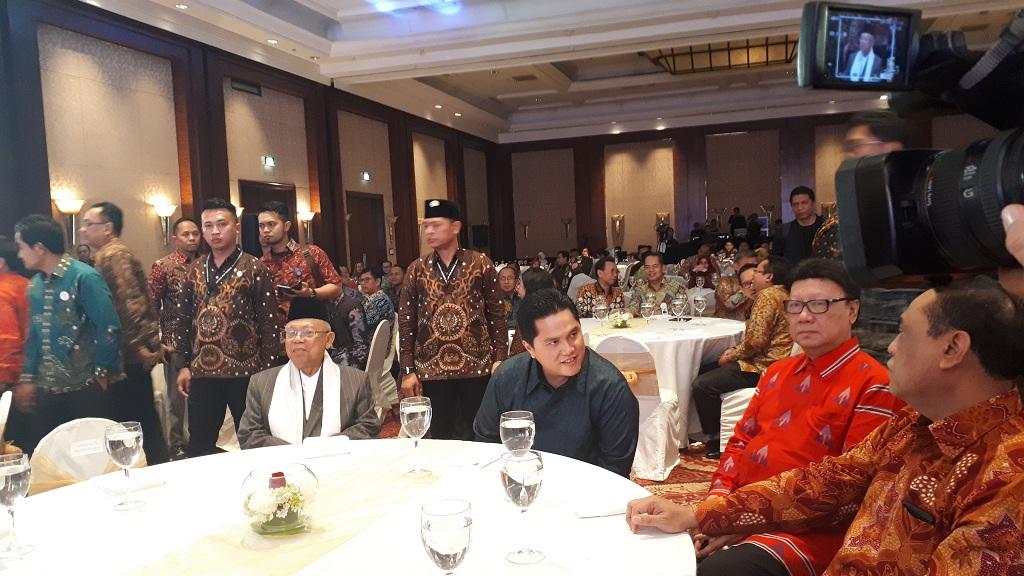 Ma'ruf Amin Hadiri Malam Anugerah Syariah Republika