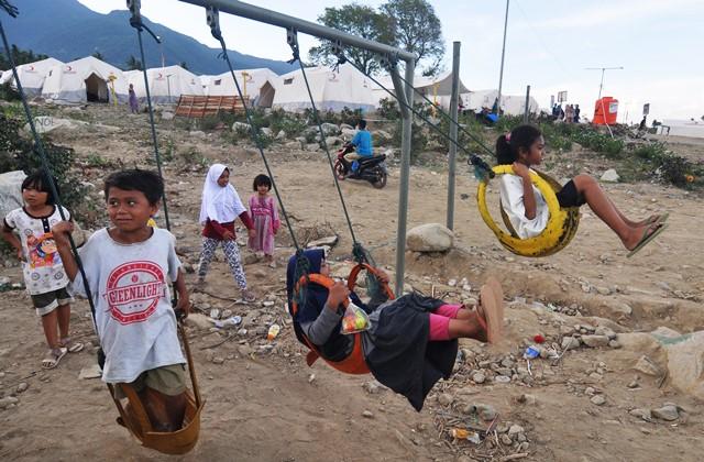 Lahan Relokasi Korban Gempa Palu Mulai Disiapkan